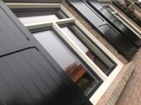 venster louvre paneel houten aluminium luiken