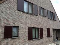 voorbeeld woning luiken aluminium paneel