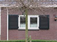 louvre raam luiken aluminium